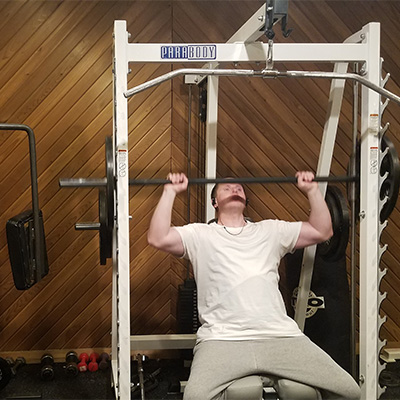 Free gym for the recovery community